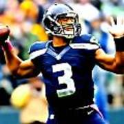 Russell Wilson Smooth Delivery Poster