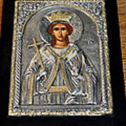 Russian Byzantin Icon Poster