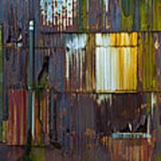 Rust Rainbow Poster by Sarah Crites