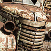 Rusted Pickup  Poster