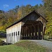 Rustic Covered Bridge Poster