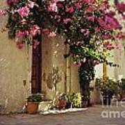 Rustic Greek Townhouse Poster