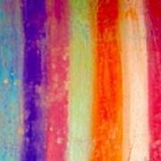 Rustic Rainbow Poster