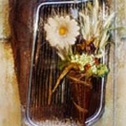 Rustic Romance Poster by La Rae  Roberts