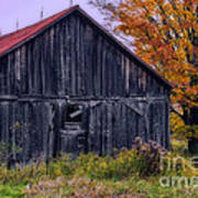 Rustic Vermont Barn Poster