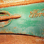 Rusting Ford Poster