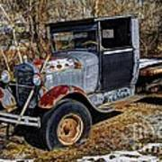 Rusty Model Aa Ford Poster