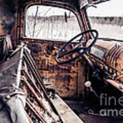 Rusty Relic Truck Poster