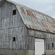 Rusty Roof Barn Poster
