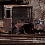 Rusty Truck   #1049 Poster