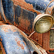 Rusty Vintage Automobile Poster