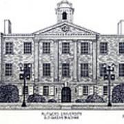 Rutgers University Poster by Frederic Kohli