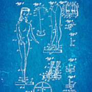 Ryan Barbie Doll Patent Art 1961 Blueprint Poster