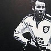 Ryan Giggs - Manchester United Fc Poster