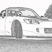 S2000 Sketch Poster
