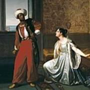 Sabatelli, Gaetano 1842-1893. Otello Poster