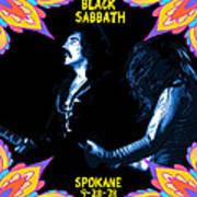 Sabbath In Spokane 1 Poster