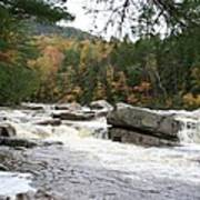 Saco River Rapids North Conway I Poster