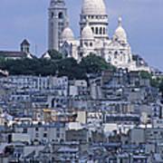 Sacre - Coeur Basilica Poster