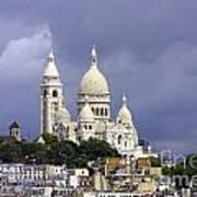 Sacre Coeur Paris France Poster