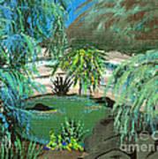 Sacred Cenote At Chichen Itza Poster