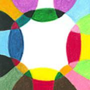 Sacred Circle Of Light Poster