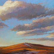 Sacred Dune Poster by Ed Chesnovitch