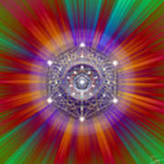 Sacred Geometry 147 Poster