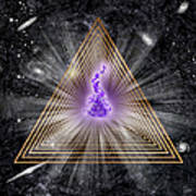 Sacred Geometry 186 Poster