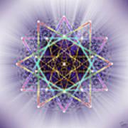Sacred Geometry 245 Poster