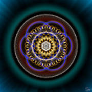 Sacred Geometry 332 Poster