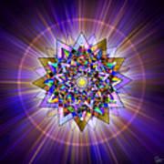 Sacred Geometry 386 Poster