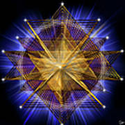 Sacred Geometry 91 Poster