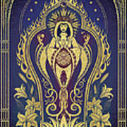 Sacred Mother - Global Goddess Series Poster by Cristina McAllister