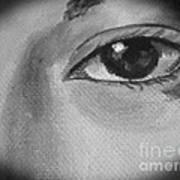 Sad Eye Poster