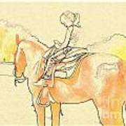 Saddle Break Poster