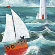 Safe Passage Variant 1 Poster by Peter Adderley
