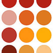 Saffron Colors Poster by Frank Tschakert