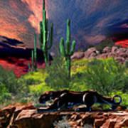 Saguaro Jaguaro Poster