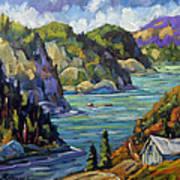 Saguenay Fjord By Prankearts Poster