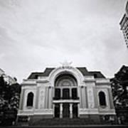 Saigon Opera House Poster