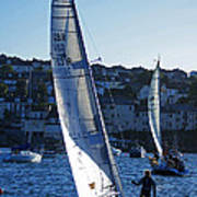 sail boat Penryn river Spring 2010 six Poster