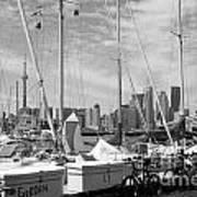 Sail Boats Toronto On Poster