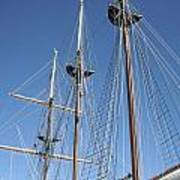 Sail Rigging Poster