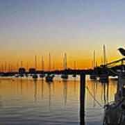 Sailboat Bay Poster