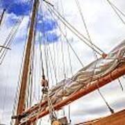 Sailboat Rigging Poster