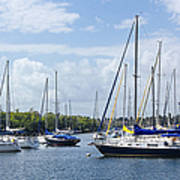 Sailboat Series 05 Poster