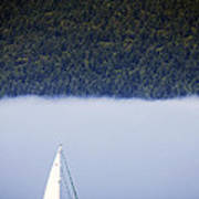 Sailboat Tranquility Poster