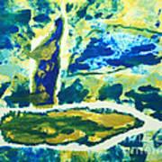 Sailboats On Charles River Poster by Alexandra Jordankova