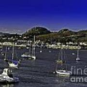 Sailing Conwy Harbor Poster
